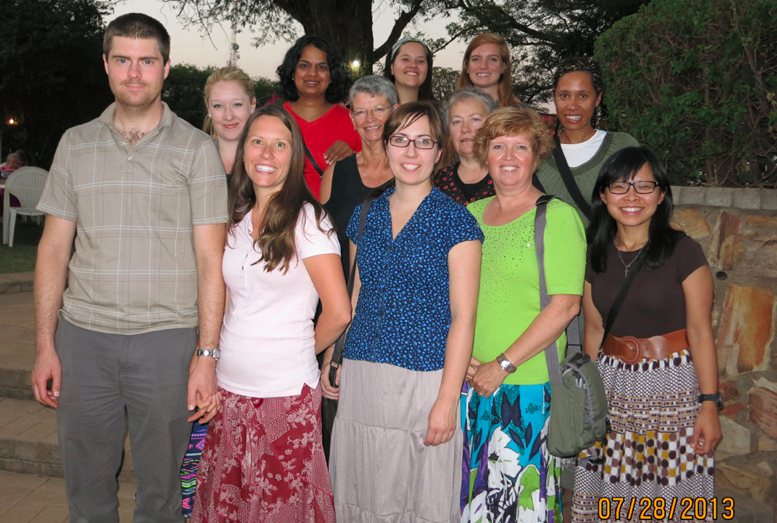 Greetings from the Zambia Missions Team!